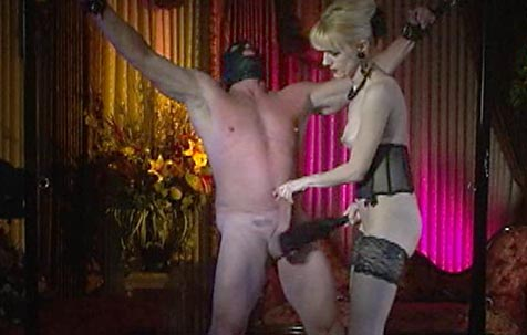 Ball torture and cock punishment 1 BDSM Movie