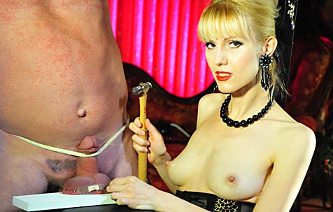 Ball torture and cock punishment 2 BDSM Movie