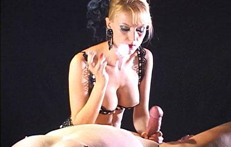 Cigarette torture BDSM Movie