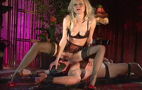 Mistress Karin's juices BDSM movie