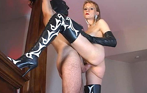 Trained by Mistress Karin 1 BDSM movie